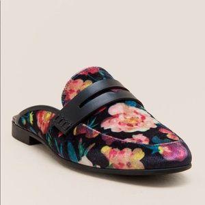 Francesca PAISLEY FLORAL MULES Slip-on Shoes